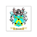 Jacmard Square Sticker 3