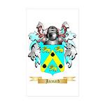 Jacmard Sticker (Rectangle 50 pk)