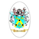 Jacmard Sticker (Oval 10 pk)