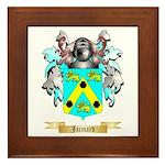 Jacmard Framed Tile