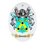 Jacmard Ornament (Oval)