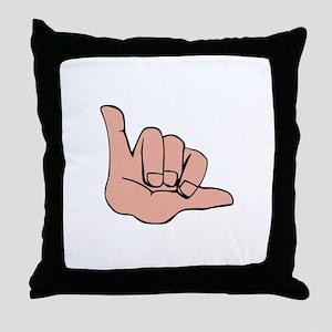 HANG LOOSE Throw Pillow