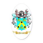 Jacmar Oval Car Magnet