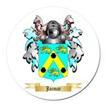 Jacmar Round Car Magnet
