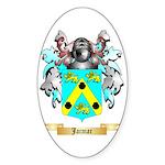 Jacmar Sticker (Oval 10 pk)
