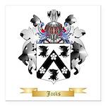 Jacks Square Car Magnet 3