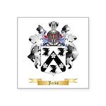 Jacks Square Sticker 3