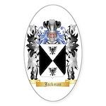 Jackman Sticker (Oval)