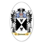 Jackman Sticker (Oval 10 pk)