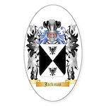 Jackman Sticker (Oval 50 pk)