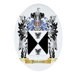 Jackman Ornament (Oval)
