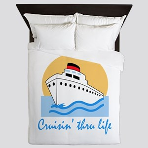 CRUISIN THRU LIFE Queen Duvet