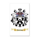 Jackling Rectangle Car Magnet
