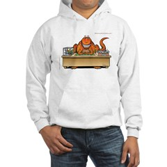 T-Rex In Box/Out Box Hooded Dinosaur Sweatshirt