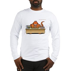T-Rex In Box/Out Box Long Sleeve Dinosaur T-Shirt