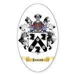 Jacketts Sticker (Oval 50 pk)
