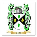 Jacka Square Car Magnet 3
