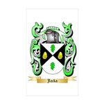 Jacka Sticker (Rectangle 10 pk)