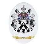 Jack Ornament (Oval)