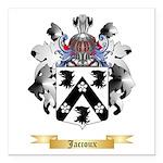 Jaccoux Square Car Magnet 3