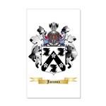 Jaccoux 20x12 Wall Decal