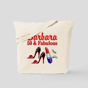 STUNNING 50TH Tote Bag