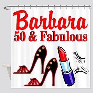 STUNNING 50TH Shower Curtain