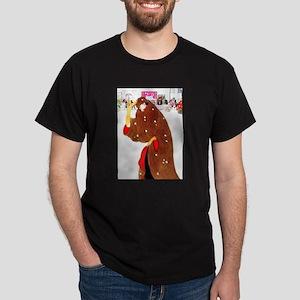 Christmas In New York Dark T-Shirt