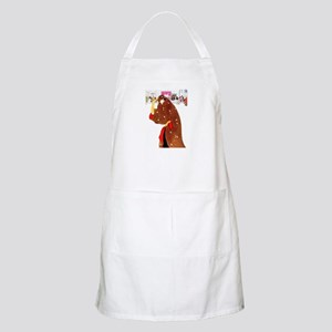 Christmas In New York Apron