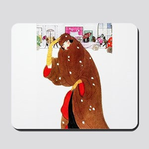 Christmas In New York Mousepad