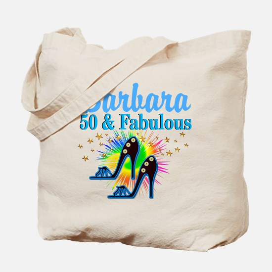 STUNNING 50TH Tote Bag