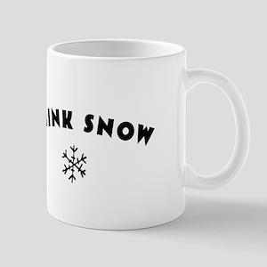 Think Snow Mug