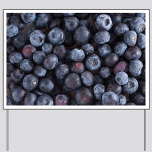 Blueberry Yard Sign