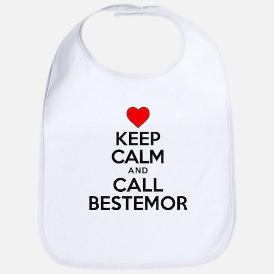 Keep Calm Call Bestemor Bib