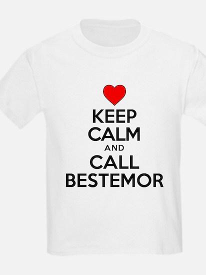 Keep Calm Call Bestemor T-Shirt