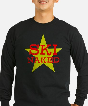 SKI NAKED Long Sleeve T-Shirt