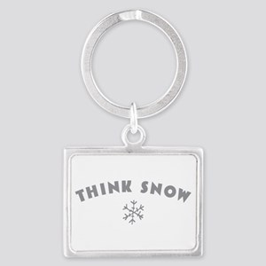 Think Snow Keychains