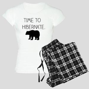Time to Hibernate Women's Light Pajamas