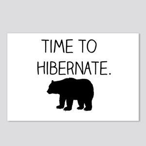 Time to Hibernate Postcards (Package of 8)