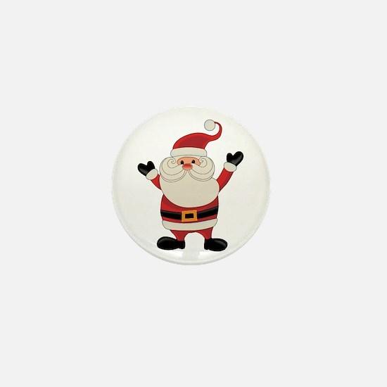 Santa Claus Mini Button