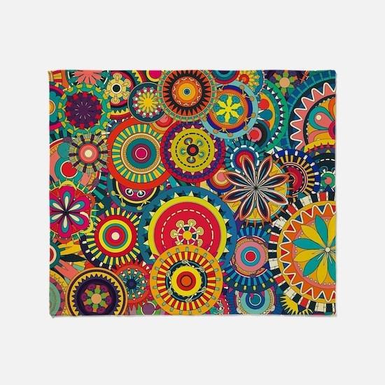 Unique Patterns Throw Blanket