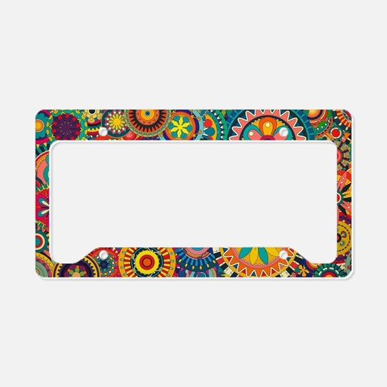 Cute Color License Plate Holder