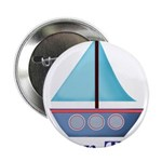 Customizable Blue Sailboat 2.25