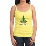 Customizable Blue Sailboat Tank Top