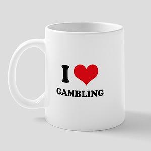 I Love Gambling Mug