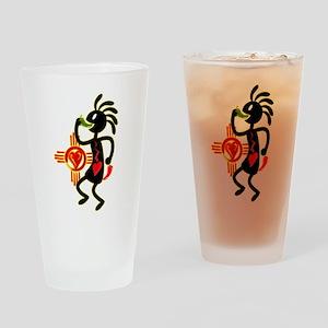 KOKAPELI CHILE LOVE Drinking Glass