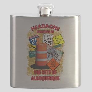 ALBUQUERQUE ORANGE Flask