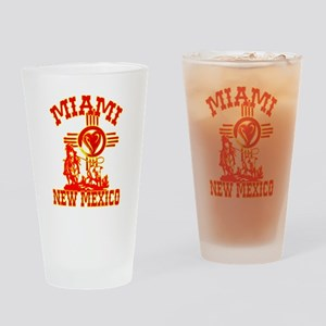 MIAMI LOVE Drinking Glass