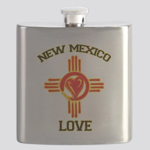 NEW MEXICO LOVE Flask
