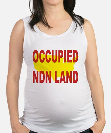 Occupied NDN Land Maternity Tank Top